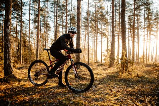 Pyöräilyä Salpausselällä cycling