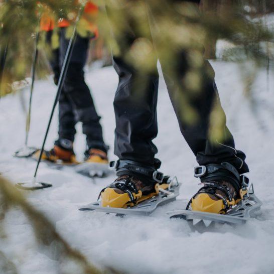 Best Lake Nature Adventures lumikengät snow shoes