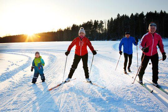 Tervalepikon torpat hiihto cross-country skiing