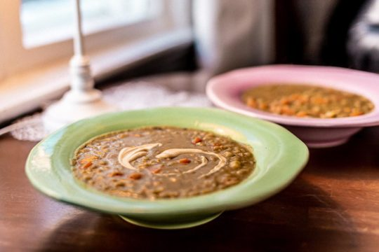 Kahvila Oskari keittolounas Cafe Oskari Soup lunch