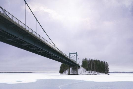 Pulkkilanharju Karisalmen silta Karisalmi bridge
