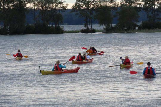 Fenix Ohjelmapalvelut melonta kayaking