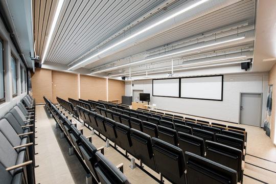 Liikuntakeskus Pajulahti auditorio