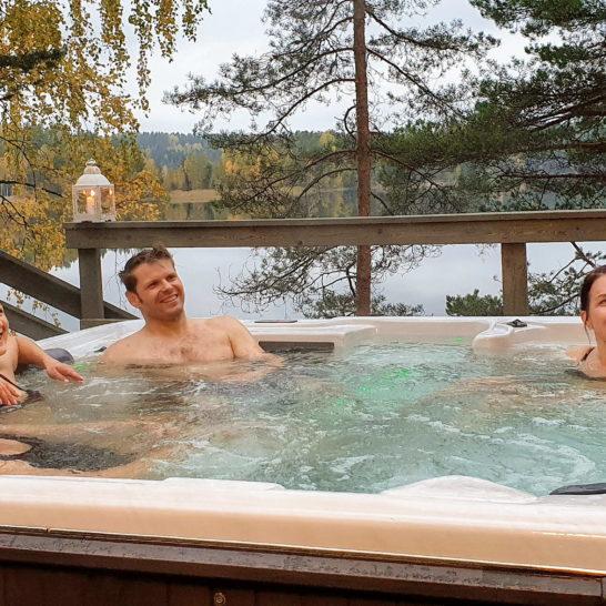Yli-Kaitala Resort poreallas