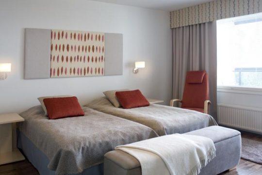 Hotelli Tallukka kahden hengen huone