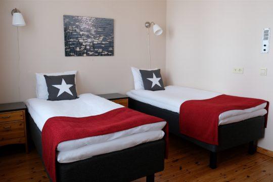 Hotel Radalla kahden hengen huone