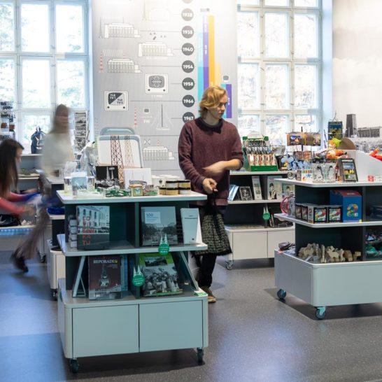 Radio-ja tv-museo Mastola museokauppa