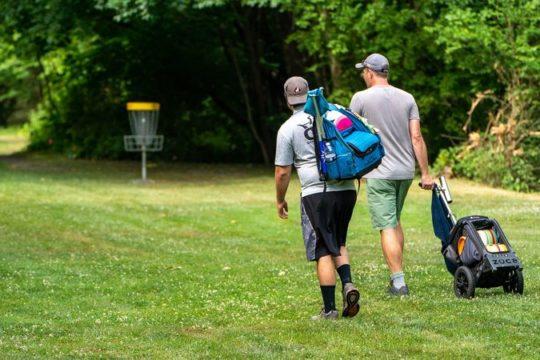 Heinola Travel frisbeegolf