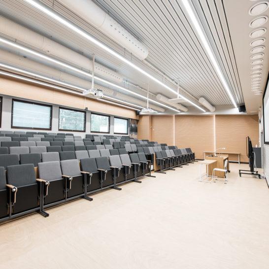 Pajulahden uusittu auditorio