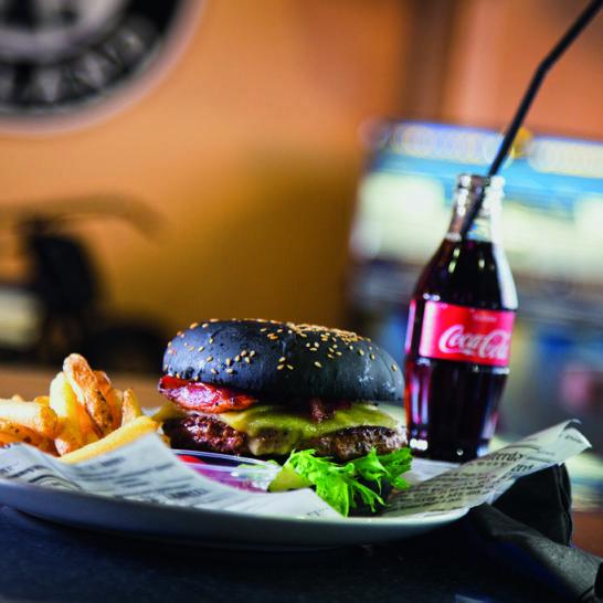 Ace Cafe Lahti Black Burger