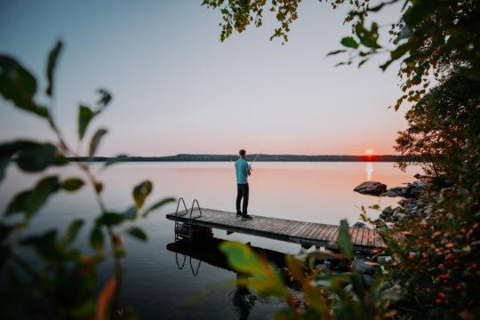 Kalastaja Lehmonkärki Fisherman
