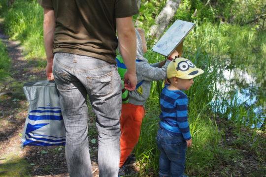 Lasten luontopolku Vääksy