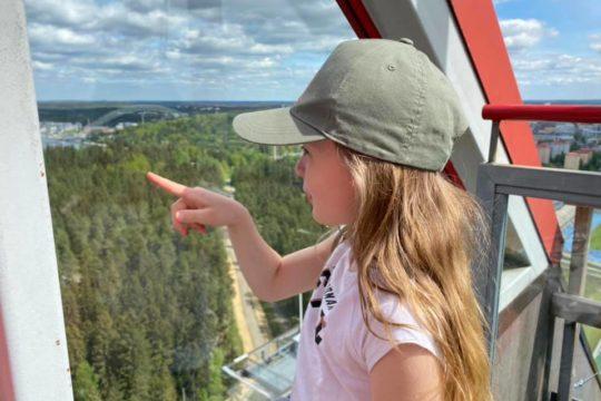 Suurmäki Lahti Hyppyrimäen näköalatasanne