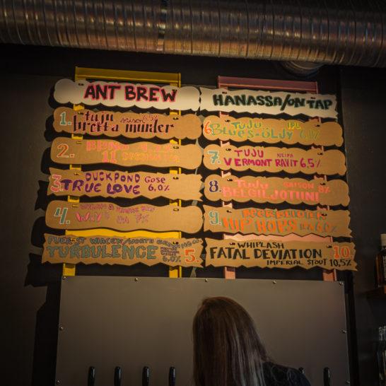 Ant Brew, Malski