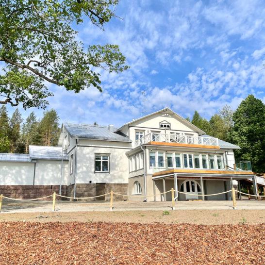 Radalla Resort Kartanorakennus ja ravintola Balladi