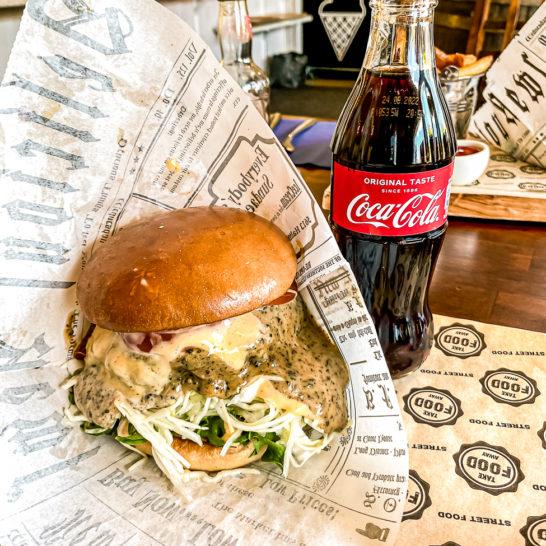 Navetan Sivukonttori burger