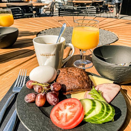 Ilola Inn aamiainen