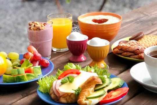 Kahvila Oskarin aamupala breakfast
