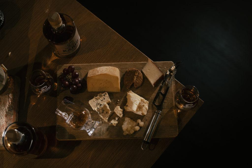 Teerenpeli juustovalikoima